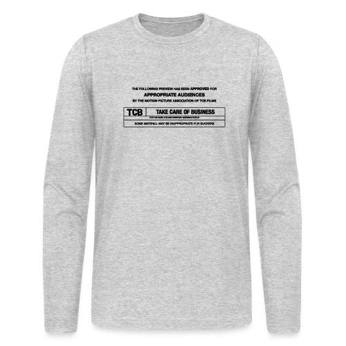 TCB Films Disclamer - Men's Long Sleeve T-Shirt by Next Level