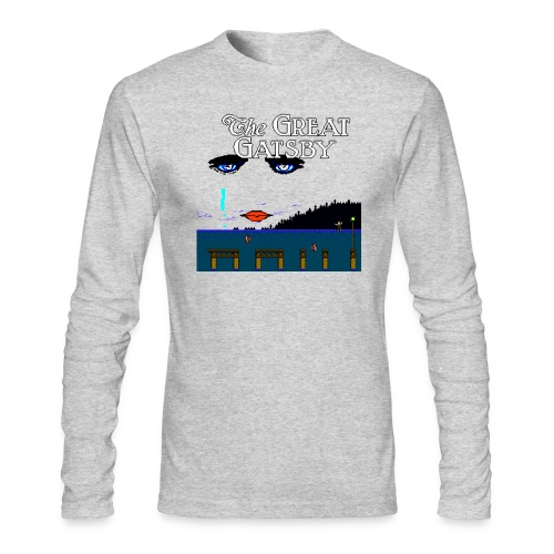 Great Gatsby Game Tri-blend Vintage Tee - Men's Long Sleeve T-Shirt by Next Level