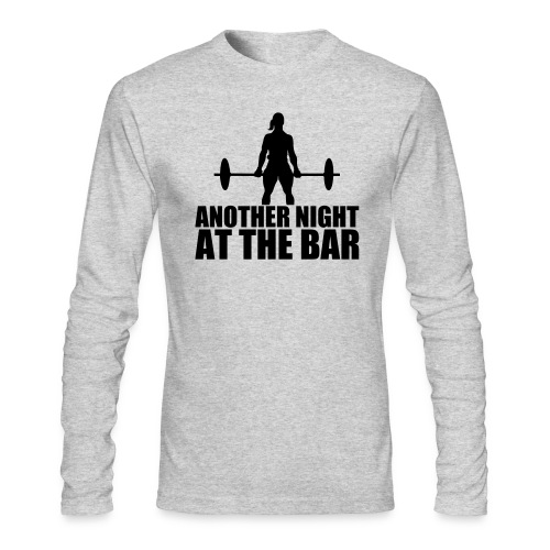 Another Night at the Bar - Men's Long Sleeve T-Shirt by Next Level