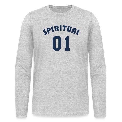 Spiritual One - Men's Long Sleeve T-Shirt by Next Level