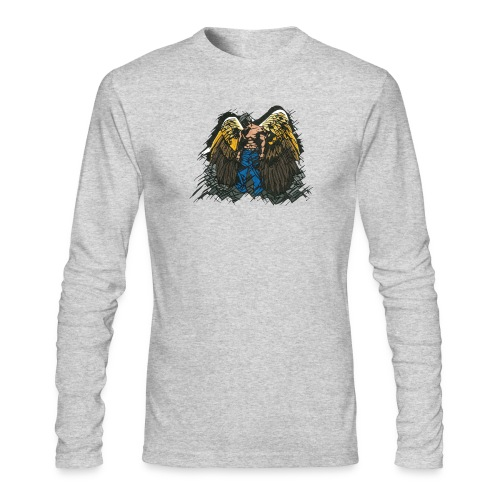 Angel - Men's Long Sleeve T-Shirt by Next Level