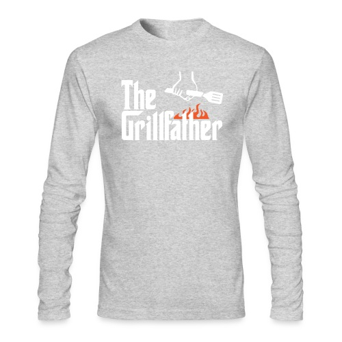 The Grillfather - Men's Long Sleeve T-Shirt by Next Level
