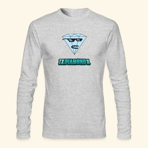 Txdiamondx Diamond Guy Logo - Men's Long Sleeve T-Shirt by Next Level