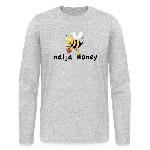 naija honey... - Men's Long Sleeve T-Shirt by Next Level