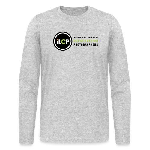 iLCP logo horizontal RGB png - Men's Long Sleeve T-Shirt by Next Level
