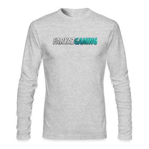 FaryazGaming Theme Text - Men's Long Sleeve T-Shirt by Next Level