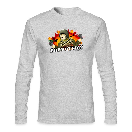 Promoted! Hank & Jed - Men's Long Sleeve T-Shirt by Next Level