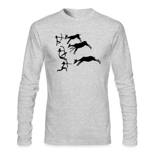 Lascaux Cave Painting - Men's Long Sleeve T-Shirt by Next Level