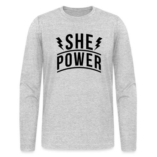She Power - Men's Long Sleeve T-Shirt by Next Level