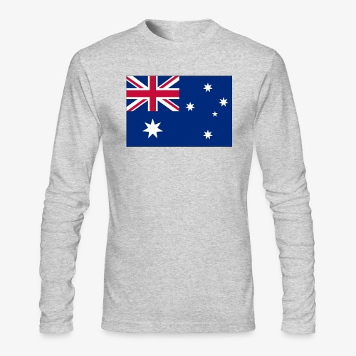 Bradys Auzzie prints - Men's Long Sleeve T-Shirt by Next Level
