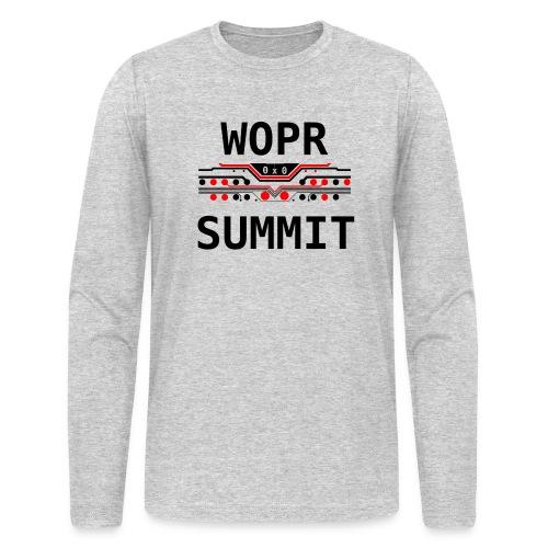 WOPR Summit 0x0 RB - Men's Long Sleeve T-Shirt by Next Level
