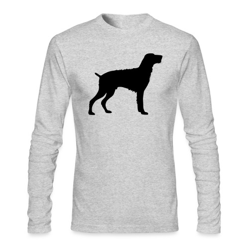 German Wirehaired Pointer - Men's Long Sleeve T-Shirt by Next Level