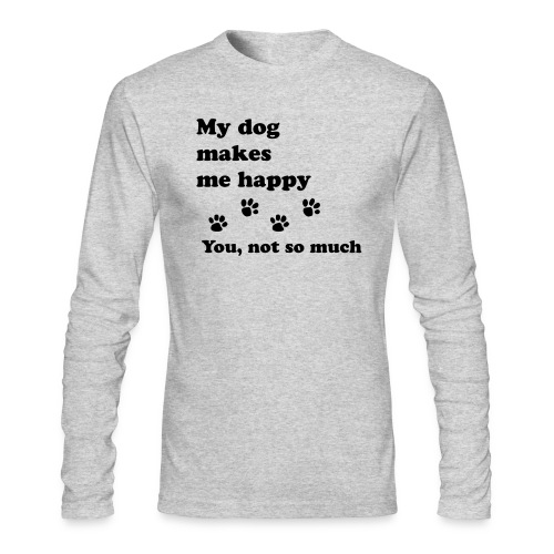 love dog 2 - Men's Long Sleeve T-Shirt by Next Level