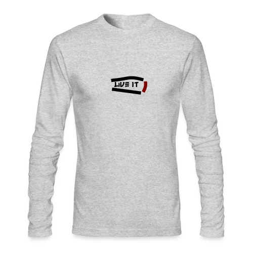 Live It - Men's Long Sleeve T-Shirt by Next Level