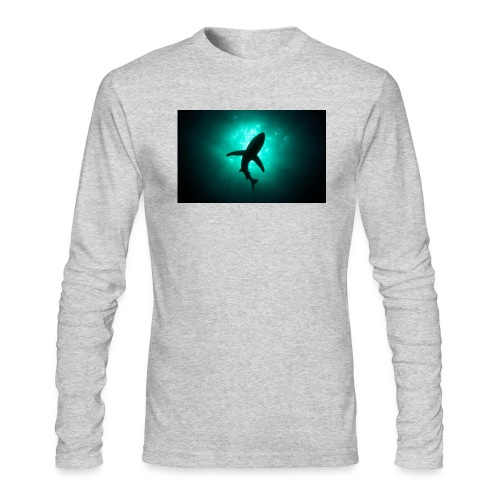 Shark in the abbis - Men's Long Sleeve T-Shirt by Next Level