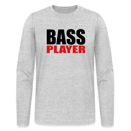 Bass Player - Men's Long Sleeve T-Shirt by Next Level