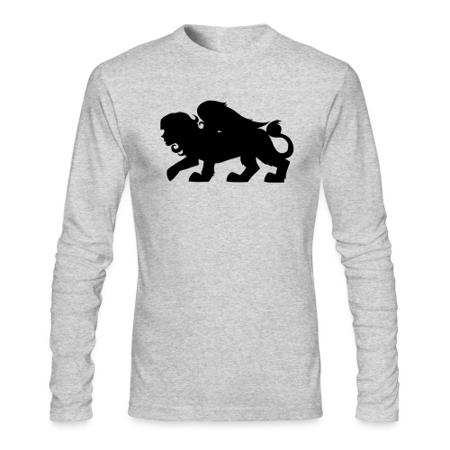 Sphynx Silhouette - Men's Long Sleeve T-Shirt by Next Level