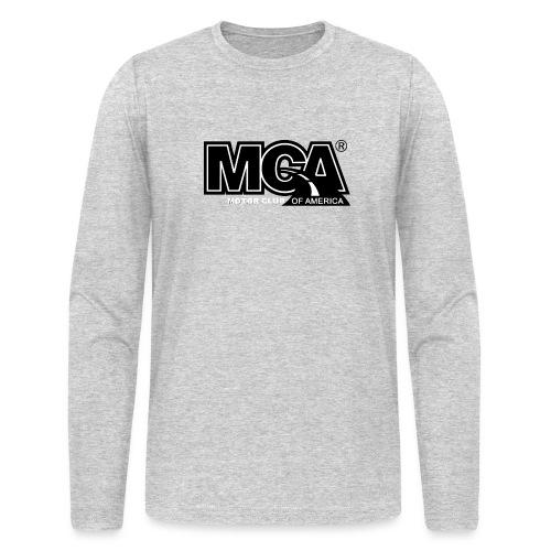 MCA Logo WBG Transparent BLACK TITLEfw fw png - Men's Long Sleeve T-Shirt by Next Level