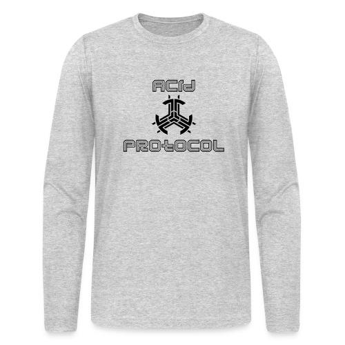 ACID PROTOCOL OFFICIAL LOGO BLACK - Men's Long Sleeve T-Shirt by Next Level