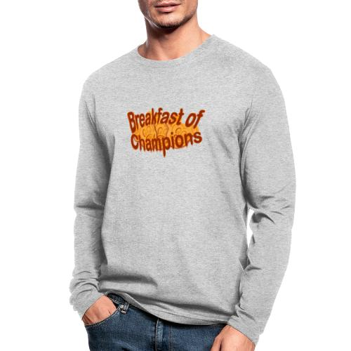 Breakfast of Champions - Men's Long Sleeve T-Shirt by Next Level