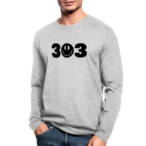 3 Smiley 3 - Men's Long Sleeve T-Shirt by Next Level