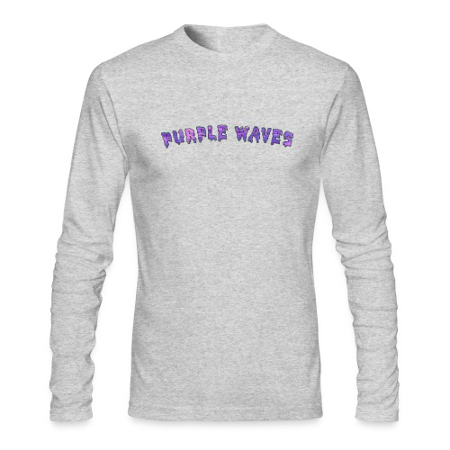 Purple Waves - Men's Long Sleeve T-Shirt by Next Level