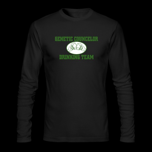 genetic counselor drinking team - Men's Long Sleeve T-Shirt by Next Level