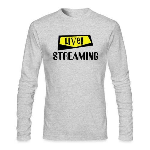 Live Streaming - Men's Long Sleeve T-Shirt by Next Level
