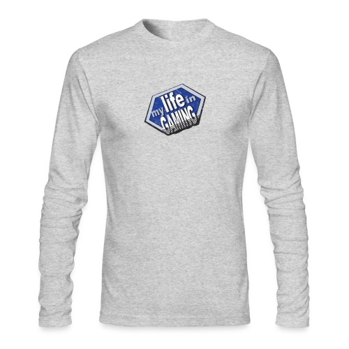 My Life In Gaming sticker - Men's Long Sleeve T-Shirt by Next Level