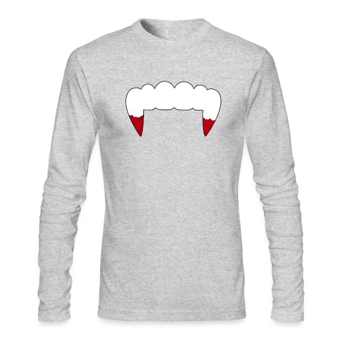 Vampire Fangs - Men's Long Sleeve T-Shirt by Next Level