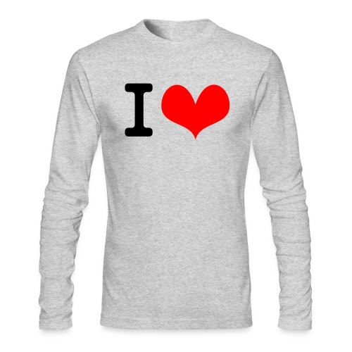 I Love what - Men's Long Sleeve T-Shirt by Next Level
