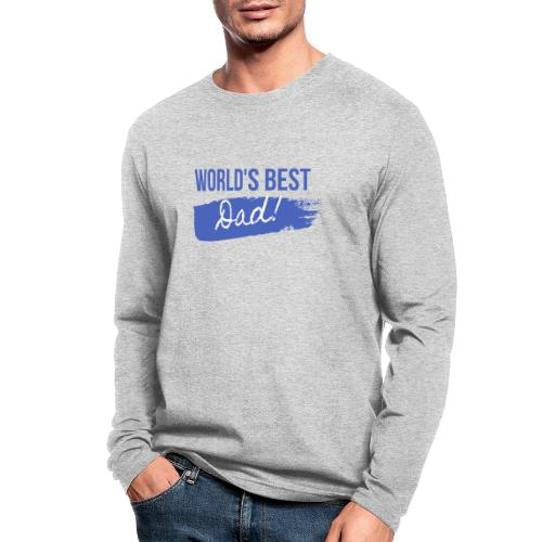 Father's Day T Shirt - Men's Long Sleeve T-Shirt by Next Level