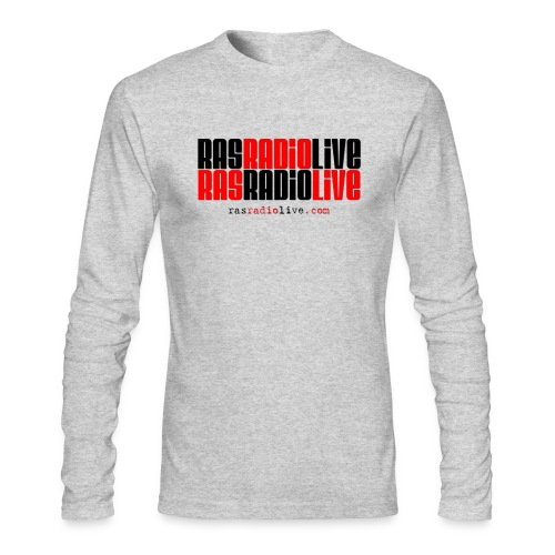 rasradiolive png - Men's Long Sleeve T-Shirt by Next Level