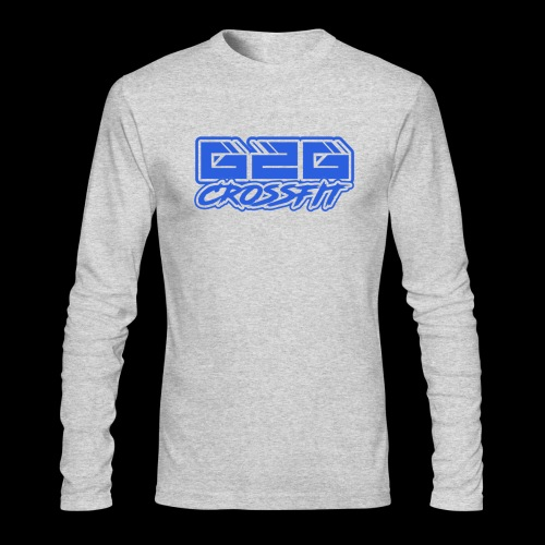 G2G CrossFit Blue Half Logo - Men's Long Sleeve T-Shirt by Next Level