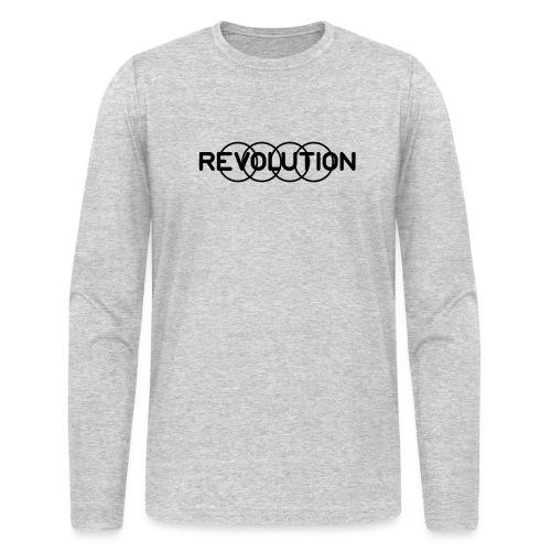 Revolution Black Logo - Men's Long Sleeve T-Shirt by Next Level