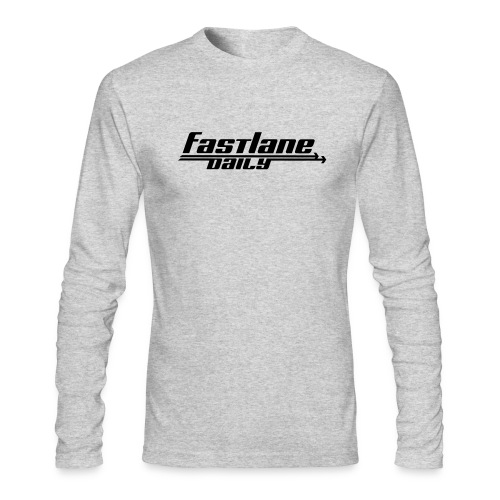 Fast Lane Daily logo - Men's Long Sleeve T-Shirt by Next Level