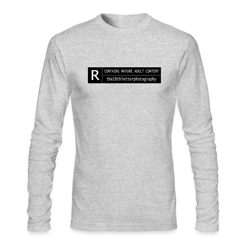 rated r - Men's Long Sleeve T-Shirt by Next Level