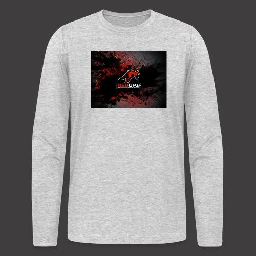RedOpz Splatter - Men's Long Sleeve T-Shirt by Next Level