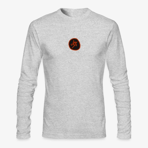 SCRATCHED MASK MK III - Men's Long Sleeve T-Shirt by Next Level