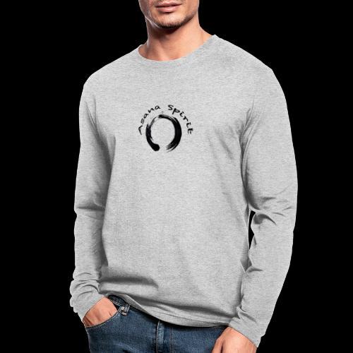 Asana Spirit - Men's Long Sleeve T-Shirt by Next Level