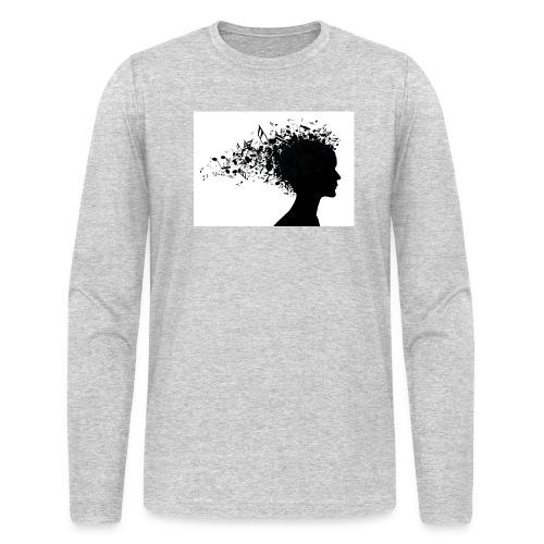 music through my head - Men's Long Sleeve T-Shirt by Next Level