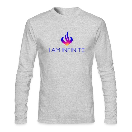 I Am Infinite - Men's Long Sleeve T-Shirt by Next Level