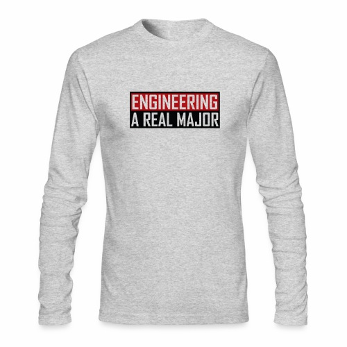Engineering T-Shirts and Apparel - Men's Long Sleeve T-Shirt by Next Level