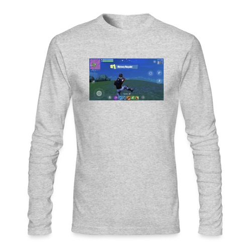 My First Win! - Men's Long Sleeve T-Shirt by Next Level