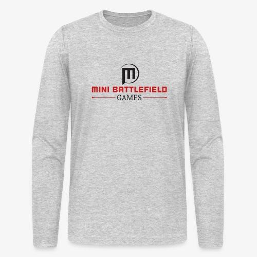 Mini Battlefield Games Logo - Men's Long Sleeve T-Shirt by Next Level