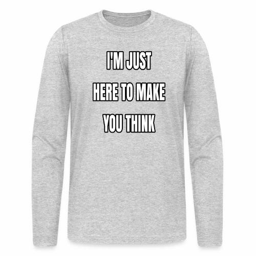 IJHTMYT (White Font) - Men's Long Sleeve T-Shirt by Next Level
