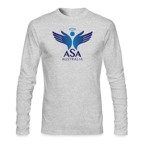 3459 Angelman Logo AUSTRALIA FA CMYK - Men's Long Sleeve T-Shirt by Next Level