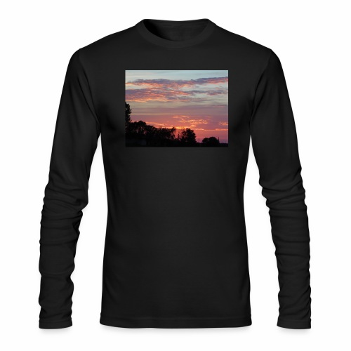 Sunset of Pastels - Men's Long Sleeve T-Shirt by Next Level