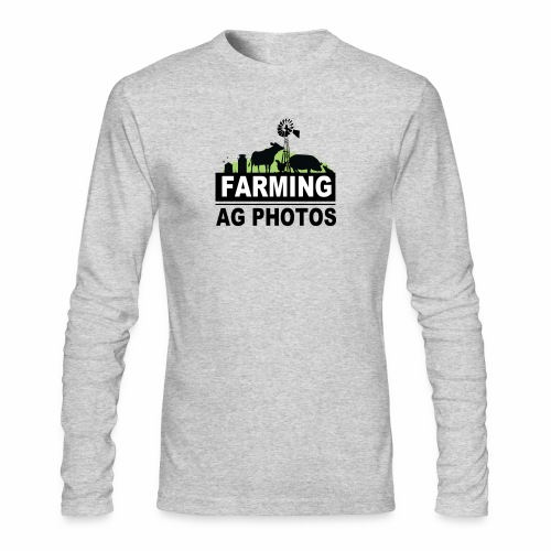 Farming Ag Photos - Men's Long Sleeve T-Shirt by Next Level