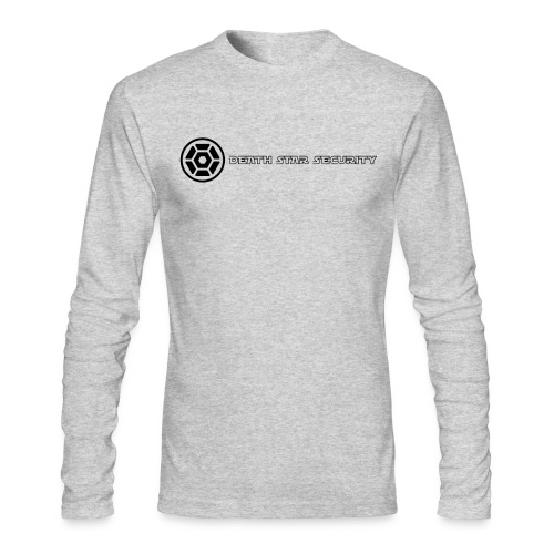 Death_Star_Security2 - Men's Long Sleeve T-Shirt by Next Level